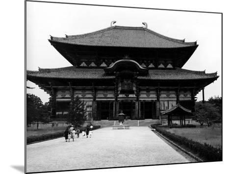 The Main Building of Todaiji Monastery--Mounted Photographic Print