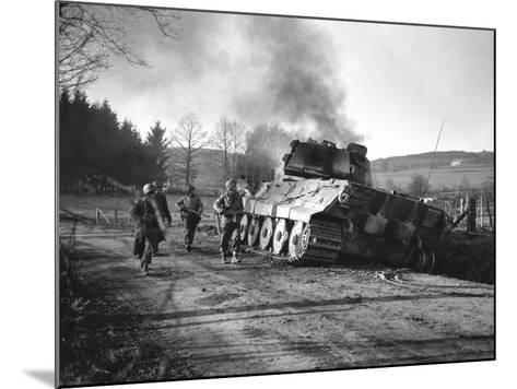 WWII Battle of the Bulge-Peter J^ Carroll-Mounted Photographic Print