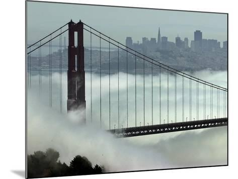 San Francisco Golden Gate Bridge-Paul Sakuma-Mounted Photographic Print