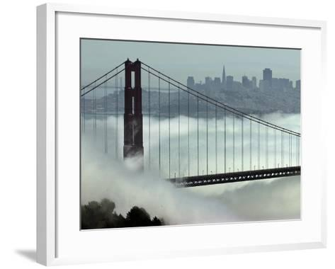 San Francisco Golden Gate Bridge-Paul Sakuma-Framed Art Print