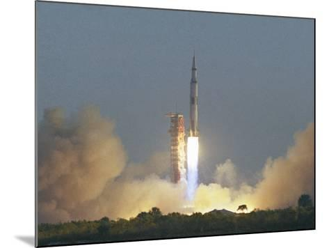 Saturn V Rocket--Mounted Photographic Print