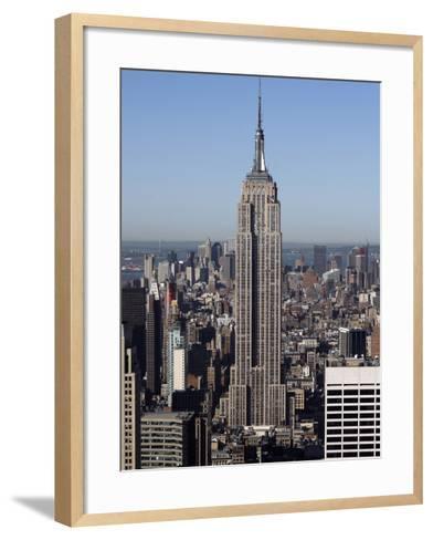 Empire State Building-Richard Drew-Framed Art Print