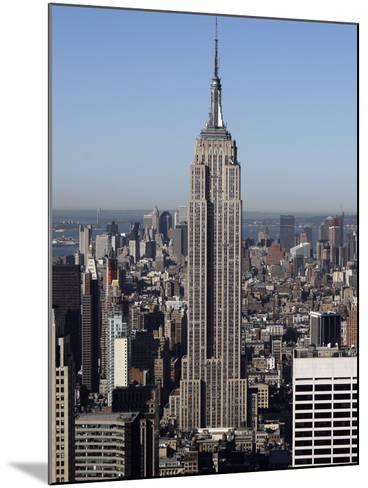 Empire State Building-Richard Drew-Mounted Photographic Print