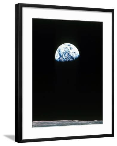 Apollo 11--Framed Art Print
