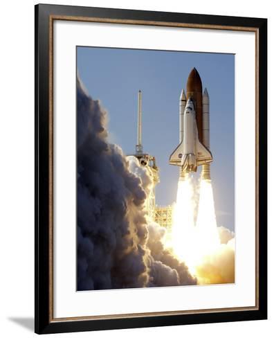 Space Shuttle-Terry Renna-Framed Art Print