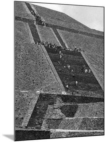 Mexico Excavations-George Brich-Mounted Photographic Print