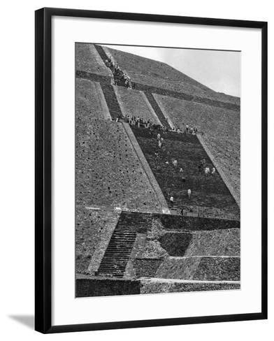 Mexico Excavations-George Brich-Framed Art Print