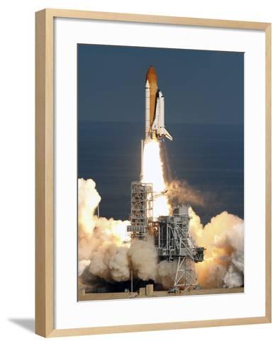 Space Shuttle-Chris O'Meara-Framed Art Print