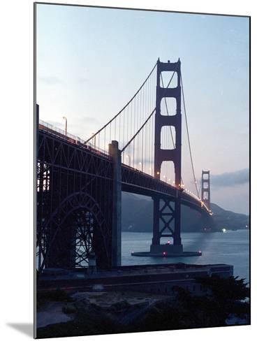 Golden Gate Bridge at Dusk-Eric Risberg-Mounted Photographic Print