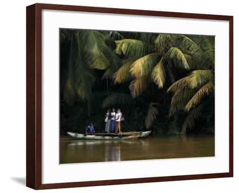 APTOPIX Sri Lanka Daily Life-Eranga Jayawardena-Framed Art Print