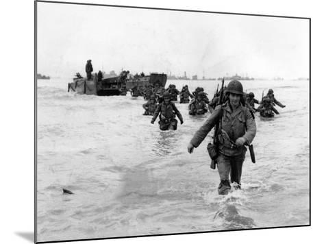 WWII Normandy Invasion-Bert Brandt-Mounted Photographic Print