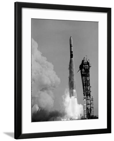 Mariner 4 Mission to Mars--Framed Art Print