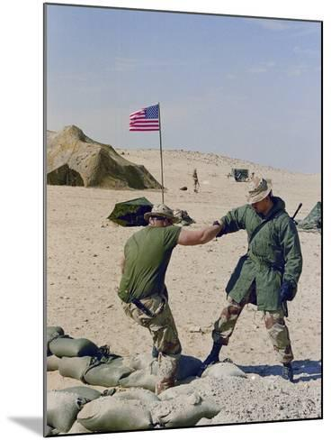 Operation Desert Storm- Mikami-Mounted Photographic Print
