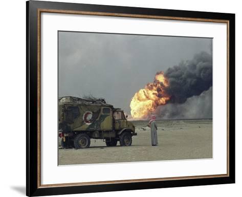 Representative of Kuwait Oil Company-Stephanie Mcgehee-Framed Art Print