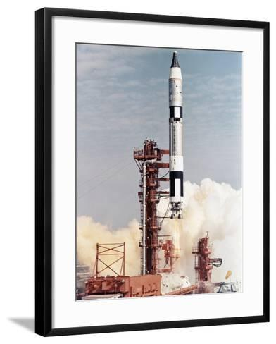 Gemini 12 Space Capsule--Framed Art Print