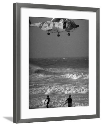 Hurricane Belle 1976-Ed Bailey-Framed Art Print