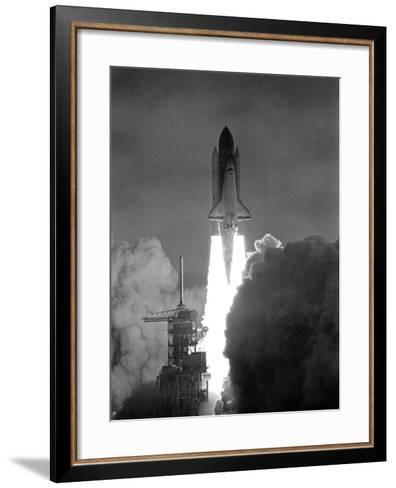 Challenger 1983--Framed Art Print