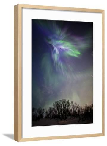 Arora Borealis, Northern Lights--Framed Art Print