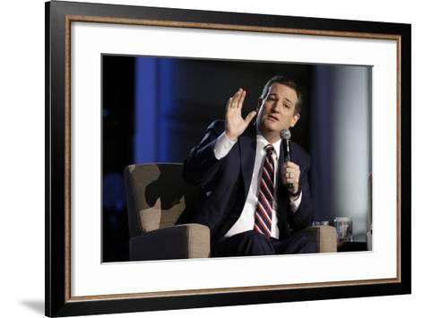 GOP 2016 Cruz-Mark Humphrey-Framed Art Print