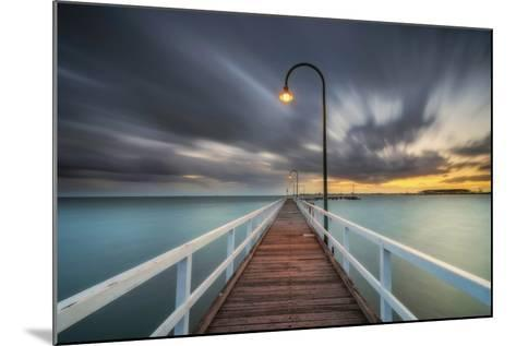 Lagoon Pier 2-Lincoln Harrison-Mounted Photographic Print