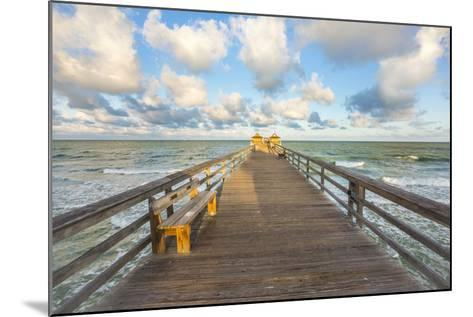 Naples Pier 4-Dennis Goodman-Mounted Photographic Print