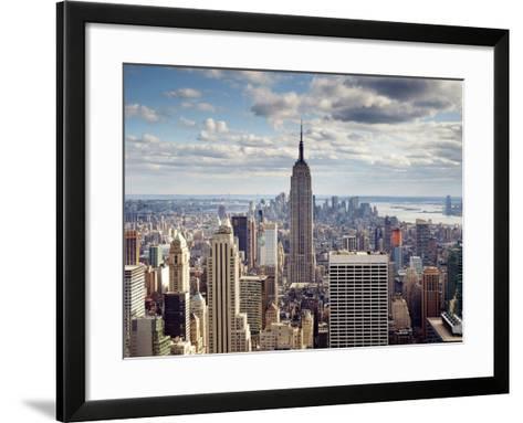 NYC the Empire-Nina Papiorek-Framed Art Print