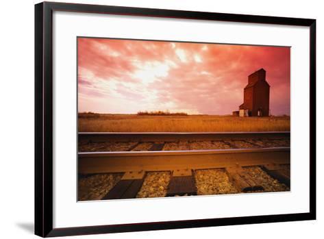 Railroad Tracks--Framed Art Print