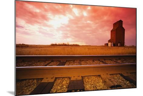 Railroad Tracks--Mounted Photographic Print
