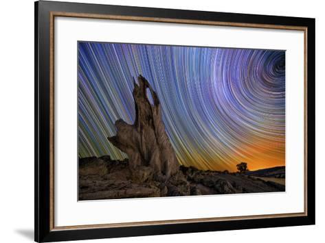 Metcalf Stump-Lincoln Harrison-Framed Art Print