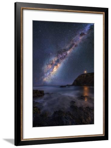 Ocean-Lincoln Harrison-Framed Art Print