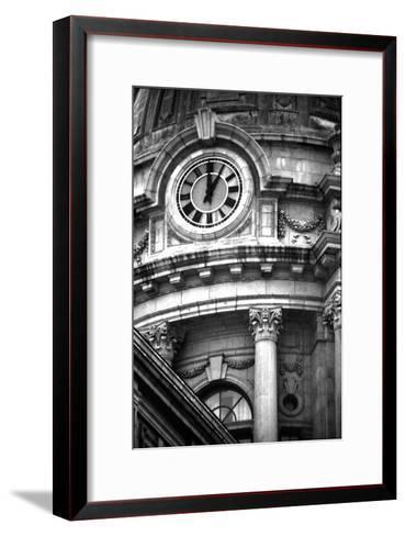 Police Building, NYC-Jeff Pica-Framed Art Print