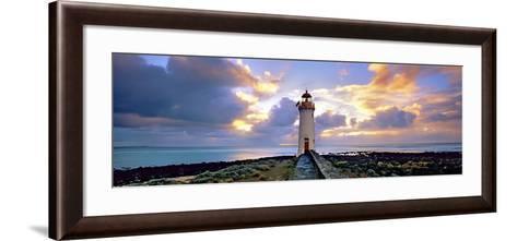 Port Fairy Lighthouse 3-Wayne Bradbury-Framed Art Print