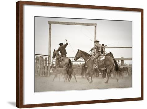Red Top Ranch-Dan Ballard-Framed Art Print