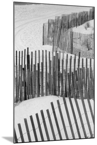 Beach Fencing 1 A-Jeff Pica-Mounted Photographic Print