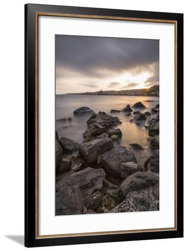 Sunset-Giuseppe Torre-Framed Art Print