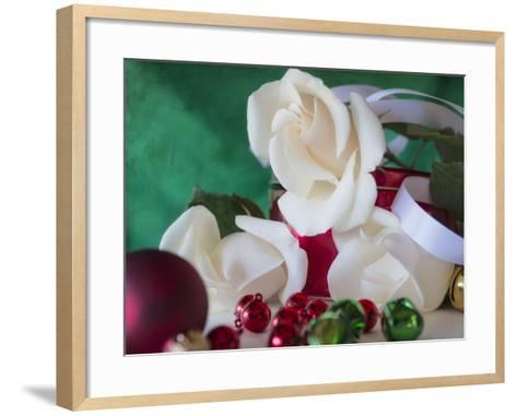 Holiday White-Bob Rouse-Framed Art Print
