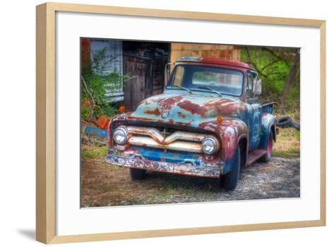 Ford Truck-Bob Rouse-Framed Art Print
