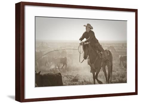 Work Hard Play Hard-Dan Ballard-Framed Art Print