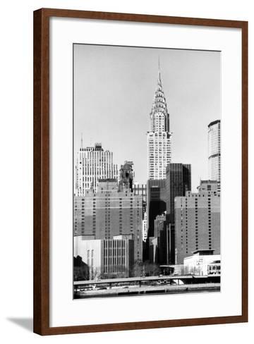 Chrysler Building-Jeff Pica-Framed Art Print