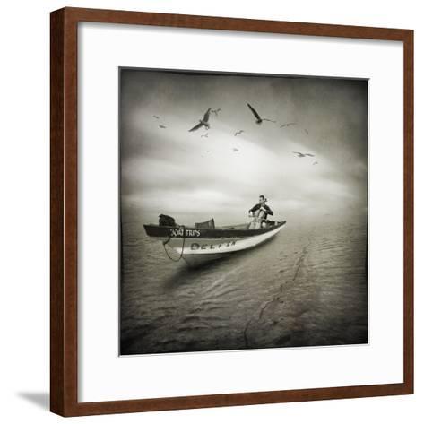 Cello Sophia-Moises Levy-Framed Art Print