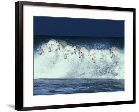Foam Followers-Bob Langrish-Framed Art Print