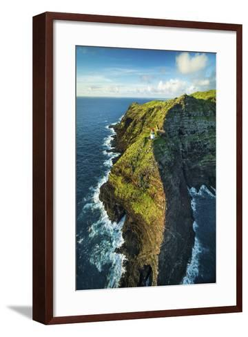 Makapu'u Lighthouse-Cameron Brooks-Framed Art Print