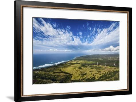 North Shore Windmills-Cameron Brooks-Framed Art Print