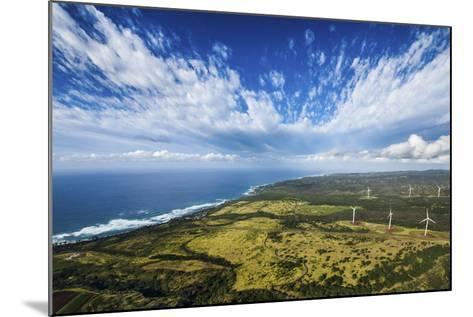 North Shore Windmills-Cameron Brooks-Mounted Photographic Print