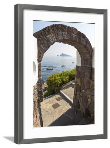 Panarea - the Door-Giuseppe Torre-Framed Art Print