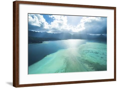 Sandbar Afternoon-Cameron Brooks-Framed Art Print