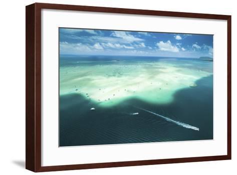 Sandbar Cruiser-Cameron Brooks-Framed Art Print
