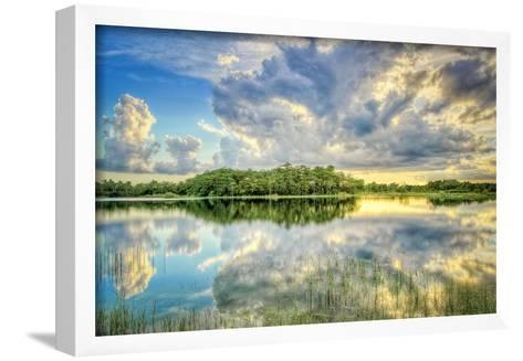 Everglades Sunset-Dennis Goodman-Framed Art Print