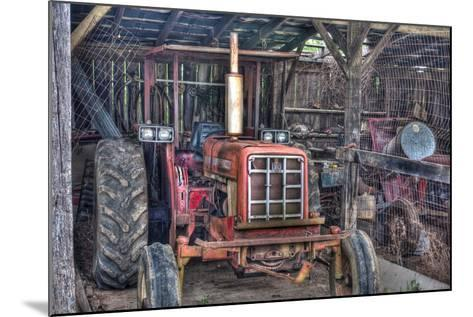 Old Tractor Shed-Bob Rouse-Mounted Photographic Print
