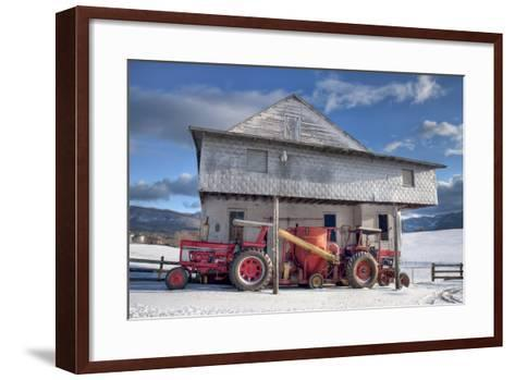 Winter at the Mill-Bob Rouse-Framed Art Print